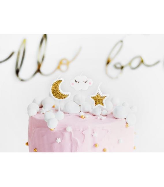 Świeczki urodzinowe Little Star, mix, 2-3cm