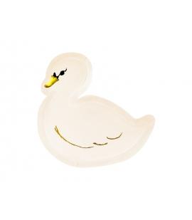 Talerzyki Lovely Swan, 23,5x22,5cm