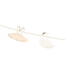 Girlanda Lovely Swan - Baletnica, 1,26m