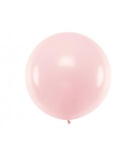 Balon okrągły 1m, Pastel Pale Pink