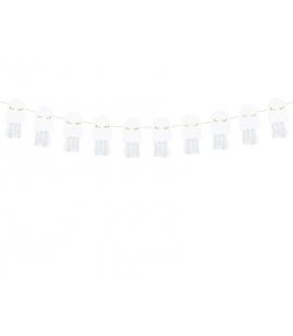 Girlanda papierowa na Halloween Duchy 1,3m
