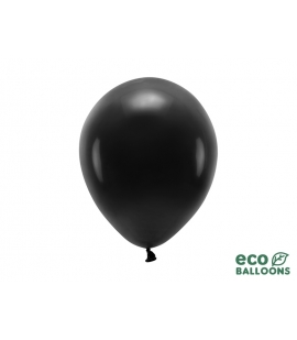 Balony Eco 26cm czarne 10szt.