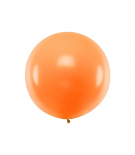 Balon okrągły 1m Pastel Orange