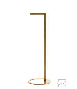 Stojak na papier toaletowy złoty